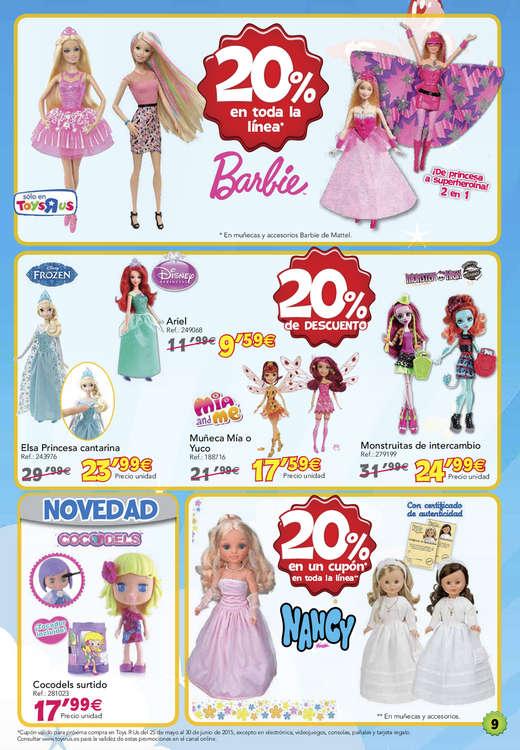 """Ofertas de Toys """"R"""" Us, 20% de descuento en miles de juguetes"""
