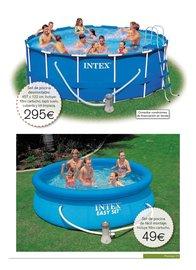 Por la vida y la alegr a piscina desmontable hipercor for Piscinas hipercor 2016