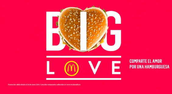 Ofertas de McDonald's, Big Love