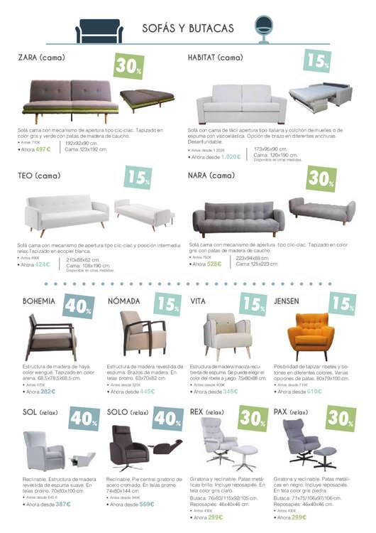 Comprar sof cama barato en donostia san sebasti n ofertia for Sofa cama la oca