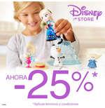 Ofertas de Disney Store, -25%
