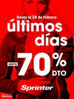 Ofertas de Sprinter, Últimos días hasta -70%