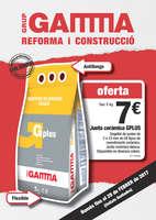 Ofertas de Gamma, Reforma i construcció