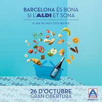 Barcelona és bona si l'ALDI et sona