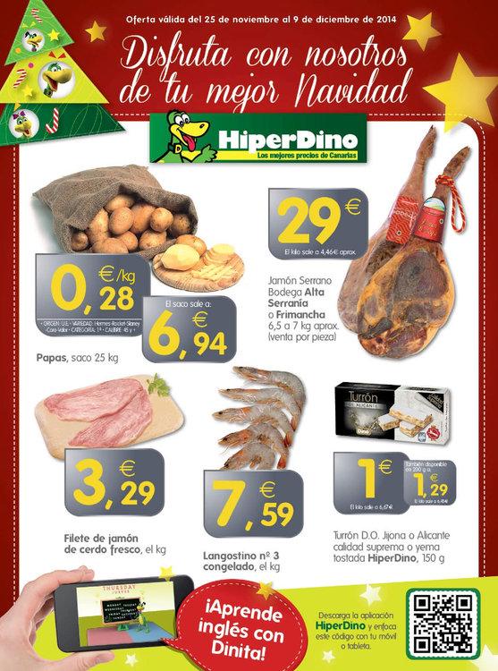 Ofertas de HiperDino, Disfruta con nosotros de tu mejor Navidad