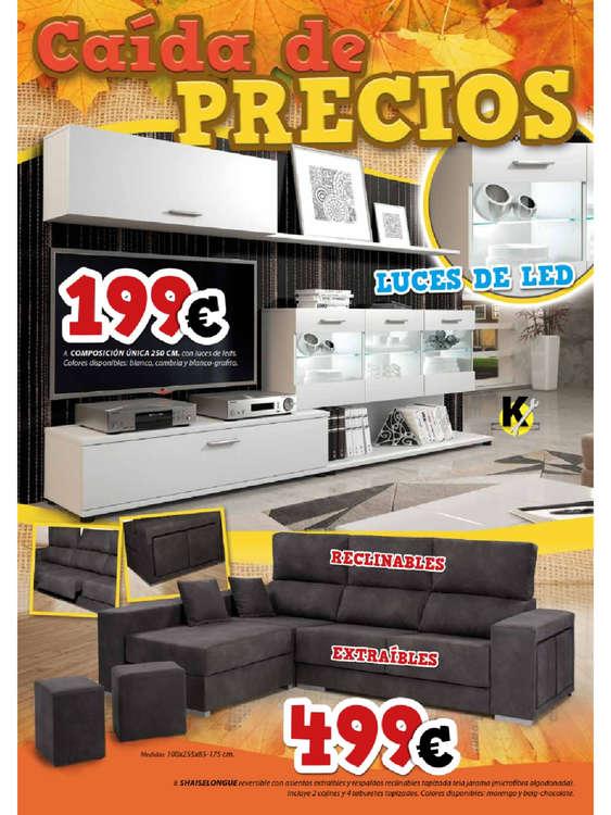Tu mueble ofertas cat logo y folletos ofertia for Tu mueble alcorcon