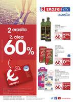 Ofertas de Eroski, 2 erosita 2. alea 60%