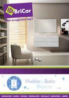 Ofertas de Bricor, Muebles de baño blancos