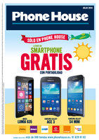 Ofertas de Phone House, Revista julio