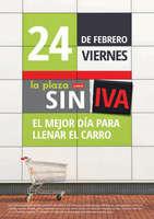 Ofertas de La Plaza de DIA, SIN IVA - El mejor día para llenar el carro