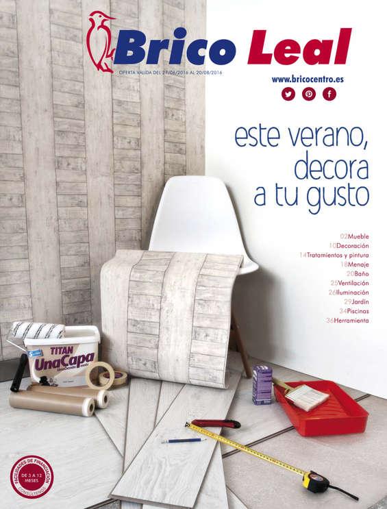 Ofertas de Bricocentro, Este verano decora a tu gusto - Burgos