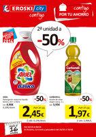 Ofertas de Eroski, 2a unidad a -50%