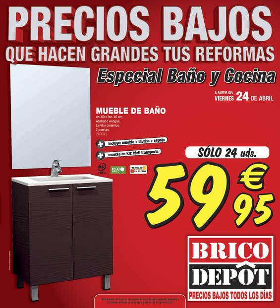 Ofertas de Bricodepot, Precios bajos que hacen grandes tus reformas - Toledo