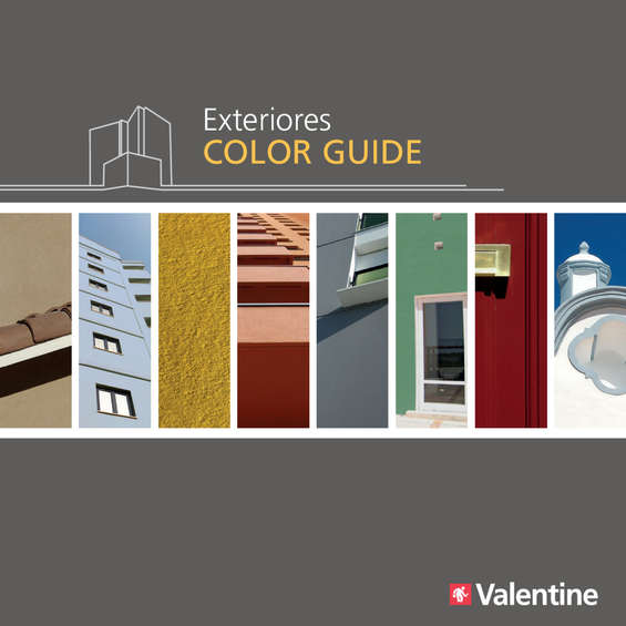 Ofertas de Valentine Decocenter, Exteriores Color Guide