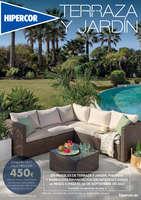Ofertas de Hipercor, Terraza y jardín