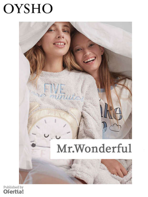 Ofertas de Oysho, Mr Wonderful by Oysho
