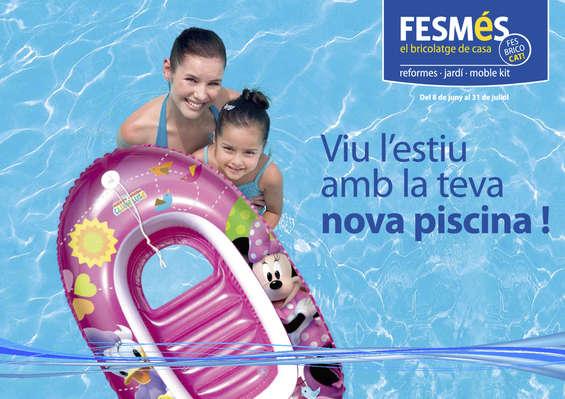 Ofertas de Fes Més, Viu l'estiu amb la teva nova piscina