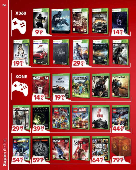Ofertas de GAME, Especial juegos de nueva generación