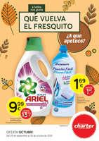 Ofertas de Supermercados Charter, Que vuelva el fresquito