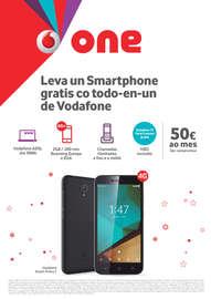 Leva un smartphone gratis co todo-en-un de Vodafone