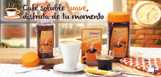 Ofertas de Mercadona, Café soluble suave. Disfruta de tu momento.