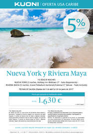 Nueva York y Riviera Maya