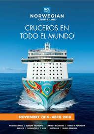 Cruceros en todo el mundo