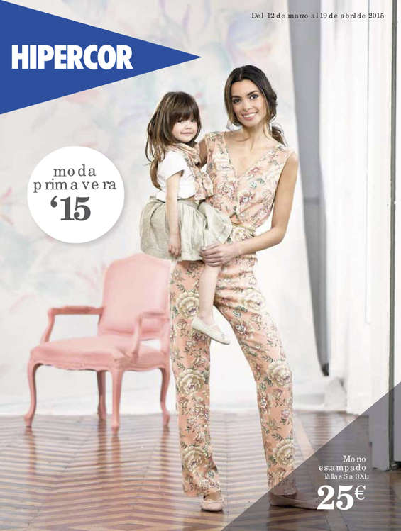 Ofertas de HiperCor, Moda Primavera '15