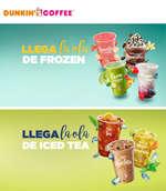 Ofertas de Dunkin Coffee, Llega la ola