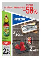 Ofertas de Hipercor, 2a unidad -50% en más de 1.000 artículos