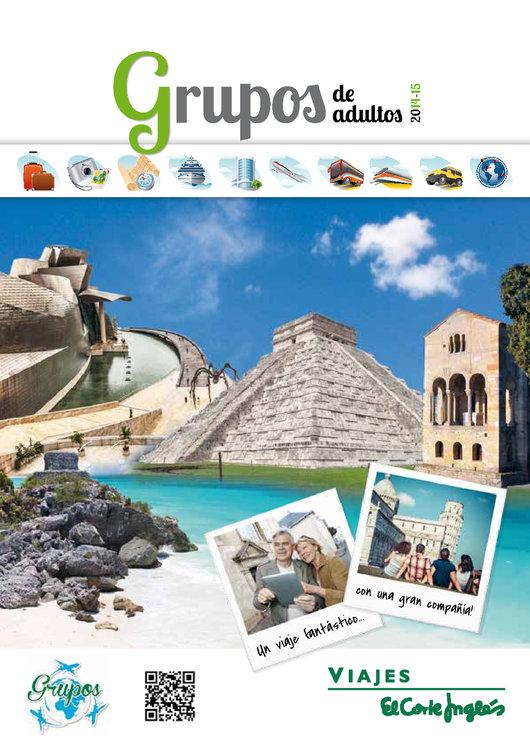 Ofertas de Viajes El Corte Inglés, Grupos de Adultos 2014/15
