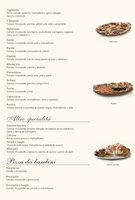 Ofertas de La Tagliatella, Carta
