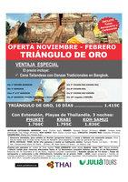 Ofertas de Central de Viajes, Triángulo de Oro