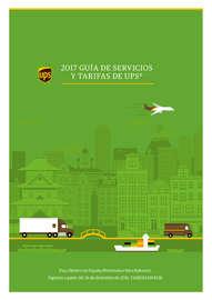 2017 Guía de servicios y tarifas de UPS