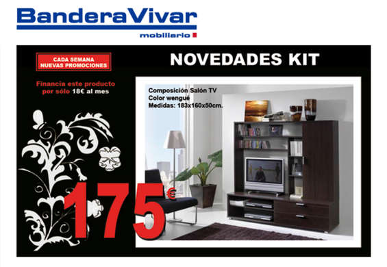 Bandera vivar m laga ofertas cat logo y folletos ofertia for Muebles bandera vivar catalogo