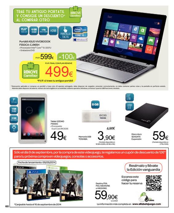 Ofertas de Carrefour, Más de 2000 artículos en promoción 3x2