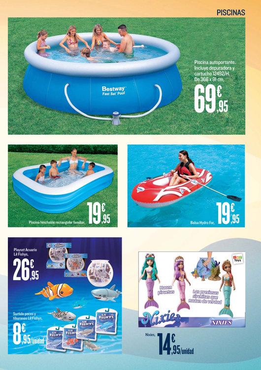 Comprar piscinas y accesorios en siero piscinas y for Piscinas desmontables hipercor