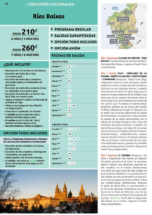 Circuito Galicia Halcon Viajes : Comprar viaje a galicia barato en córdoba ofertia