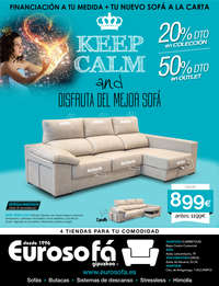 Keep calm and disfruta del mejor sofá