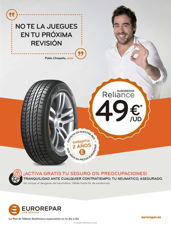 Ofertas de Eurorepar Car Service, Promociones Euro Repar Car Services