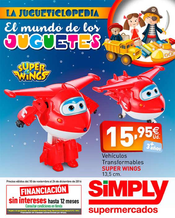 Ofertas de Simply, El mundo de los juguetes