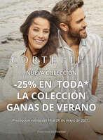 Ofertas de Cortefiel, -25% en la Nueva Colección