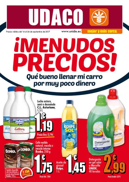 Ofertas de Supermercados Udaco, ¡Menudos precios!