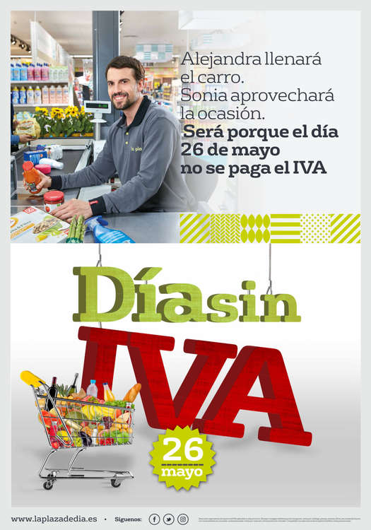 Ofertas de La Plaza de DIA, Día Sin IVA