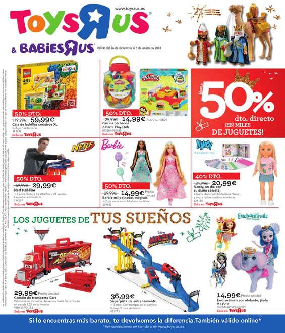 """Ofertas de Toys """"R"""" Us, Reyes"""
