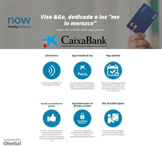 Ofertas de La Caixa, Visa & Go