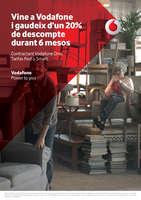Ofertas de Vodafone, Vine a Vodafone i gaudeix de un 20% de descompte durant 6 mesos