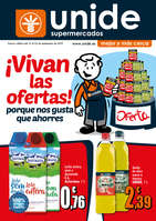 Ofertas de Supermercados Unide, ¡Vivan las ofertas!