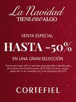 Ofertas de Cortefiel, La Navidad tiene ese algo. Venta especial hasta -50%