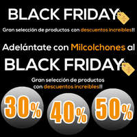 Milcolchones- Black Friday